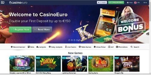 Casino Euro Sign Up Bonus 2020